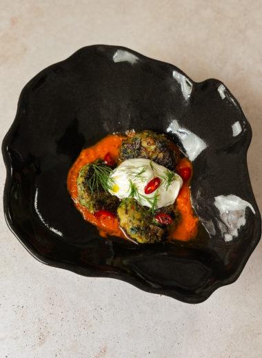 fish cakes with tomato sauce and greek yoghurt shemesh kitchen